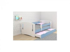 Łóżko dziecięce CLASSIC 2 różne kolory 140x80