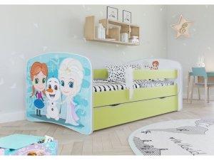 Łóżko dziecięce KRAINA LODU 160x80 różne kolory