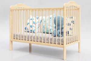 Łóżeczko niemowlęce tapczan 2w1 ALEK sosna 120x60