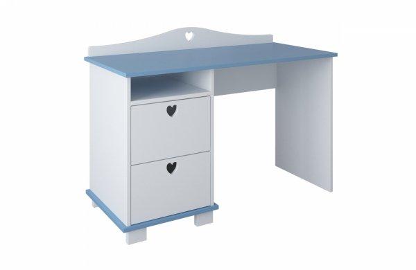 biurko-dziecięce-serca-biało-niebieskie