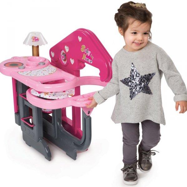 Smoby Domek dla Lalek Baby Nurse Opiekunka 13 elem.