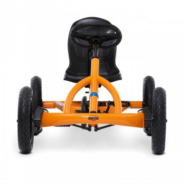 Gokart na pedały Berg Buddy B-Orange do 50 kg 3-8 lat