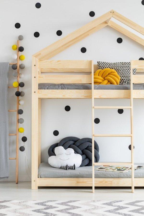Łóżo dziecięce piętrowe DOMEK MIla DMP różne rozmiary