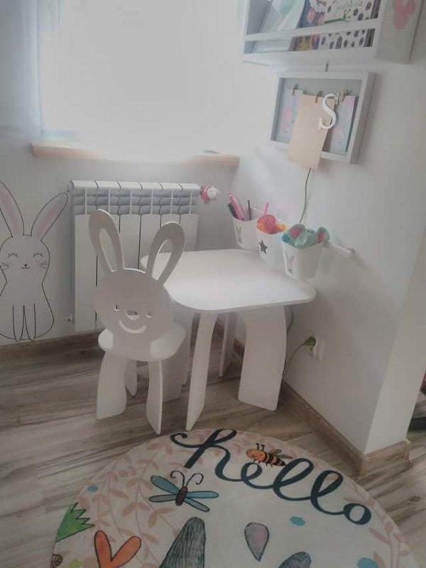 Zestaw dziecięcy stoliczek i krzesełko