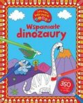 Wspaniałe dinozaury. Cyferkowe kolorowanki