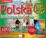 Atlas + Puzzle 100 Polska kultura ludowa
