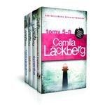 Pakiet Camilla Lackberg Tom 5-8 Niemiecki bękart; Syrenka; Latarnik; Fabrykantka aniołków (wyd. 2016)