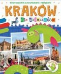 Kraków dla dzieciaków. Miniprzewodnik z pocztówkami i naklejkami