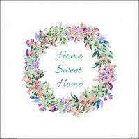 Home sweet home - plakat premium