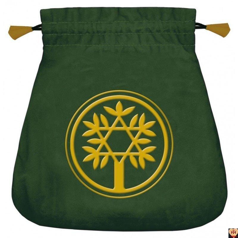 Aksamitny woreczek Celtic Tree