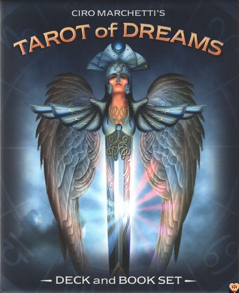 Tarot of Dreams (Tarot Snów) Ciro Marchetti US Games