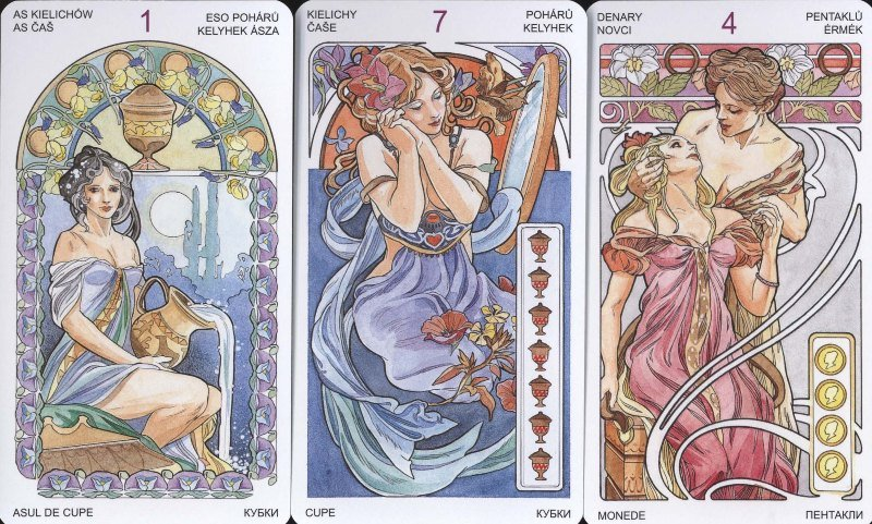 Tarot Art Nouveau (Primavera)