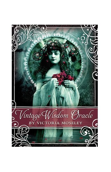 Karty Vintage Wisdom Oracle - Victoria Moseley, instr.pl