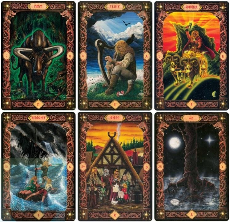 "Karty Runy ""Power of the Runes"" Voenix"