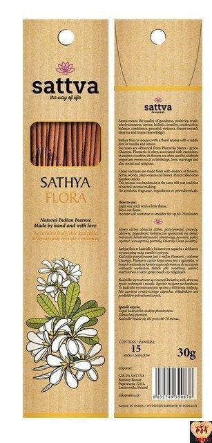 SATTVA INSENCE SATHYAFLORA 30G
