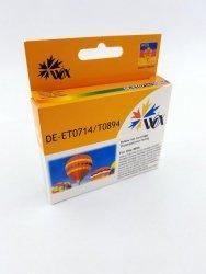 Tusz Yellow EPSON T0714  (T0894) zamiennik C13T07144011