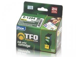Tusz TFO E-1294 zamiennik do Epson T1294 Yellow