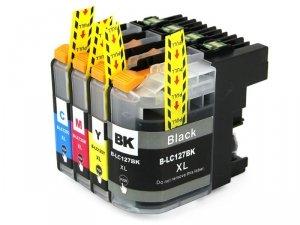 Tusz B127B czarny z chipem zamiennik do Brother LC127 Black