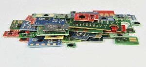 Chip Cyan Samsung S610 CLP-K660C