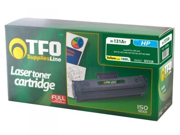 Toner TFO H-131AY zamiennik HP 131A Yellow CF212A