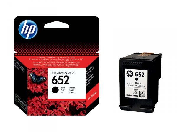 Tusz HP 652 Black Ink Advantage F6V25AE