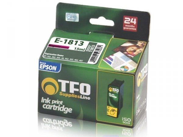 Tusz TFO E-1813 zamiennik do Epson T1813 XL Magenta