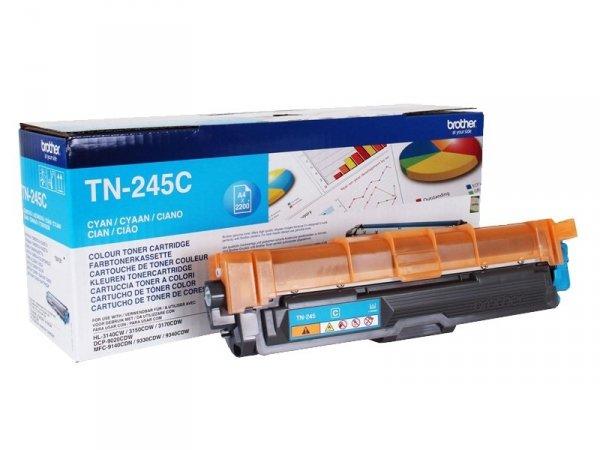 Toner Brother TN-245C Oryginalny Cyan