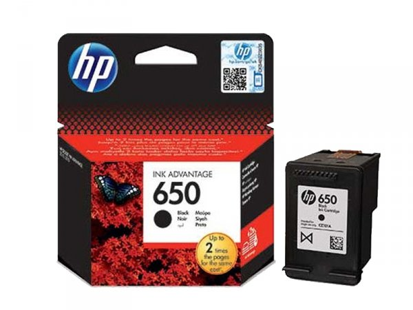 Tusz HP 650 Black Ink Advantage CZ101AE