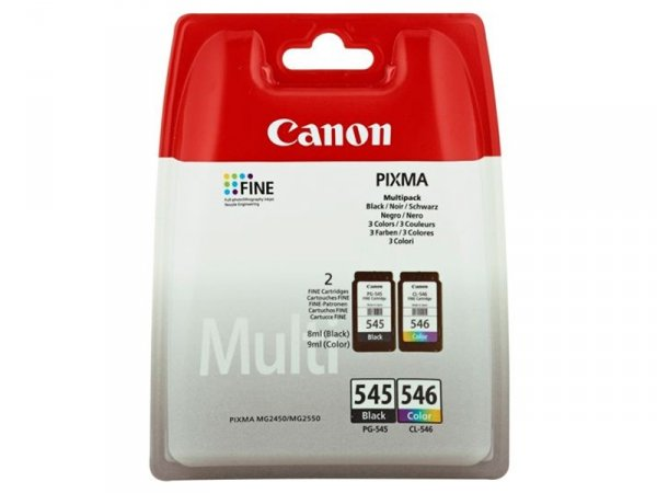 Tusze Canon PG-545 + CL-546 Multipack