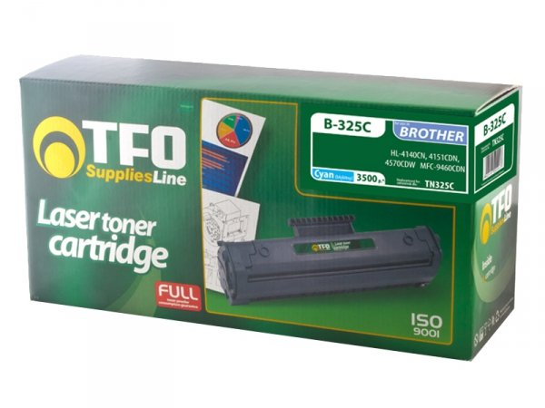 Toner TFO B-325C zamiennik Brother TN325 Cyan