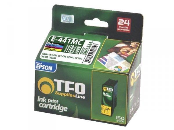 4-Pack Tuszy TFO E-441MC  zamienniki do Epson T0445 Multipack (T0441 + T0442 + T0443 + T0444)
