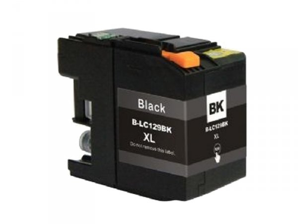Tusz B129BXL czarny z chipem zamiennik do Brother LC129 XL Black