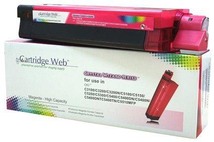 Toner Cartridge Web Magenta OKI C3100/C5100/C5450 zamiennik 42804514/42127406/42127455