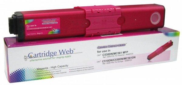 Toner Cartridge Web Magenta OKI C510 zamiennik 44469723