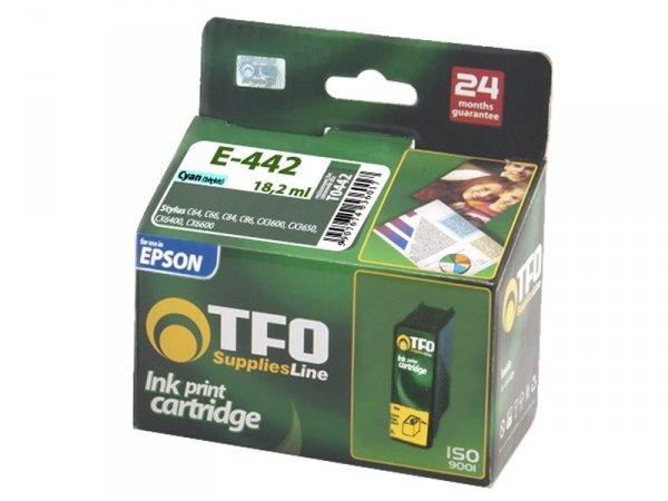 Tusz TFO E-442 zamiennik do Epson  T0442 Cyan