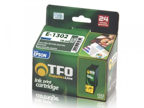 Tusz TFO E-1302 zamiennik do Epson T1302 Cyan