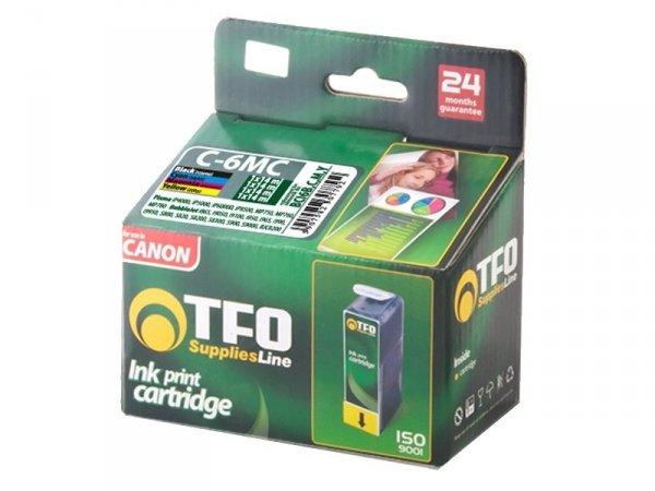 4-Pack Tuszy TFO C-6MC zamienniki do Canon BCI6 (Black + Cyan + Magenta + Yellow)