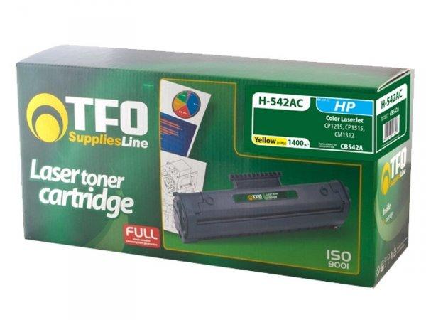 Toner TFO H-542AC zamiennik HP 125A Yellow CB542A