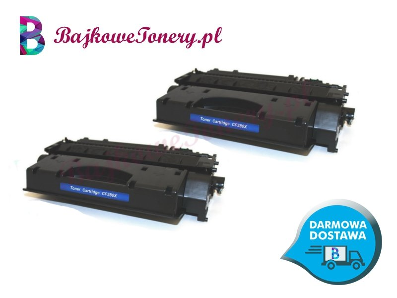 Toner HP CF280XD Zabrze www.BajkoweTonery.pl