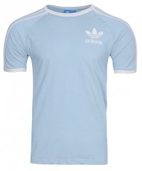 Adidas Originals błękitna koszulka t-shirt męski Clfn Tee BR4736