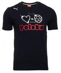 PUMA KOSZULKA T-SHIRT POLSKA FOOTBALL TEE 740453 08