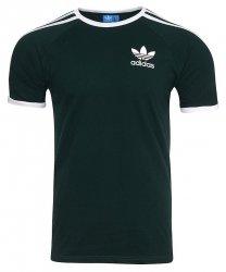 Adidas Originals ciemnozielona koszulka t-shirt męski Clfn Tee BQ7559