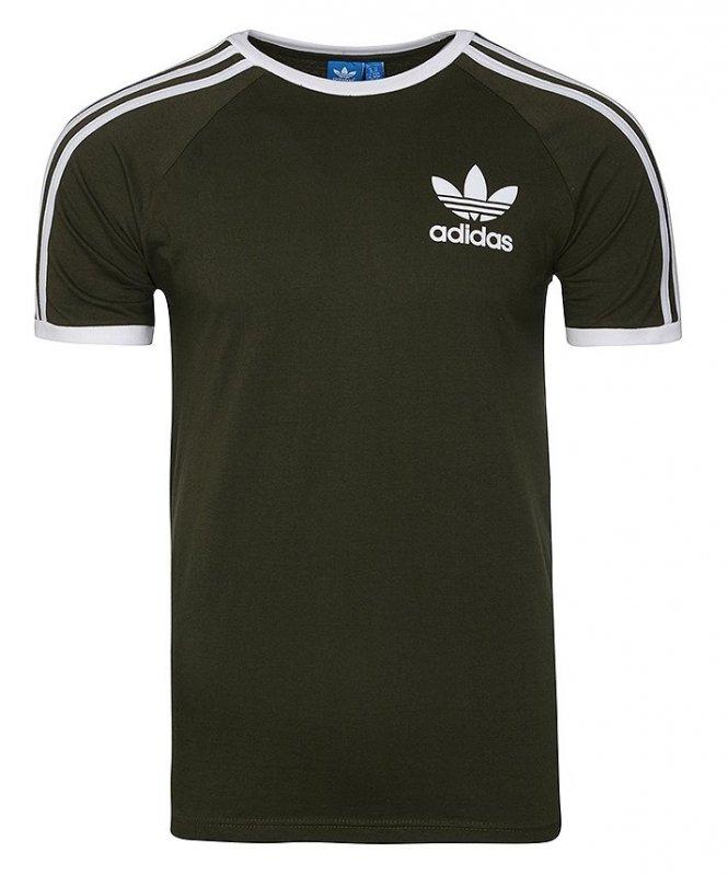 Adidas Originals khaki koszulka t shirt męski Clfn Tee BQ5369