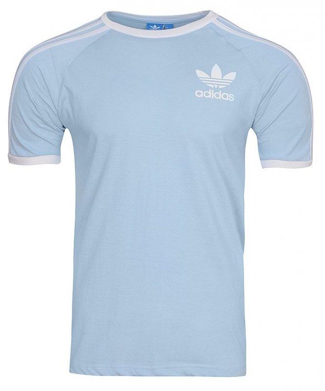 Adidas Originals błękitna koszulka t shirt męski Clfn Tee BR4736
