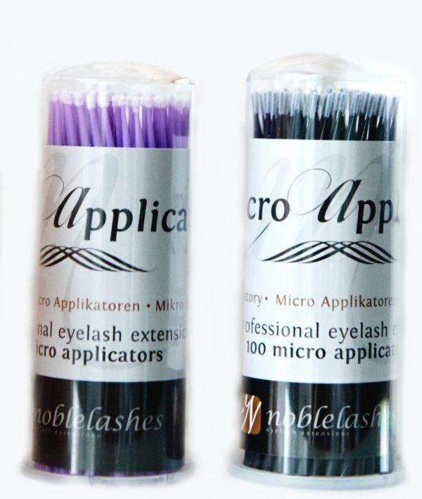 Aplikatory bezwłókienkowe microbrush 100 szt.