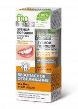 FITOKOSMETIC proszek do zębów WYBIELAJĄCY 45g