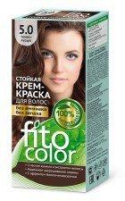 FITOCOLOR farba do włosów 5.0 CIEMNY BRĄZ