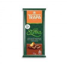 TRAPA bezglutenowa czekolada bez cukru ORZECH 75g