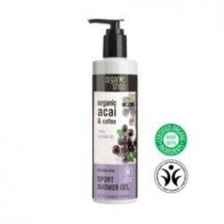 Organic Shop - Żel pod prysznic dodający energii Jagody Acai 280 ml