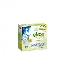 Ekologiczne tabletki do zmywarki 25 szt. Najskuteczniejsze! CERTYFIKOWANE, DLA WEGAN, Ekos, Pierpaoli
